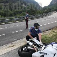 Gravere: schianto al Belvedere, muoiono due motociclisti