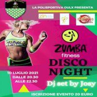 Zumba disco night a Oulx