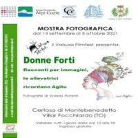 Mostra fotografica 'Donne forti' a Villar Focchiardo