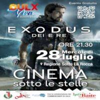 Cinema sotto le stelle a Oulx