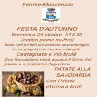 Festa d'autunno a Moncenisio